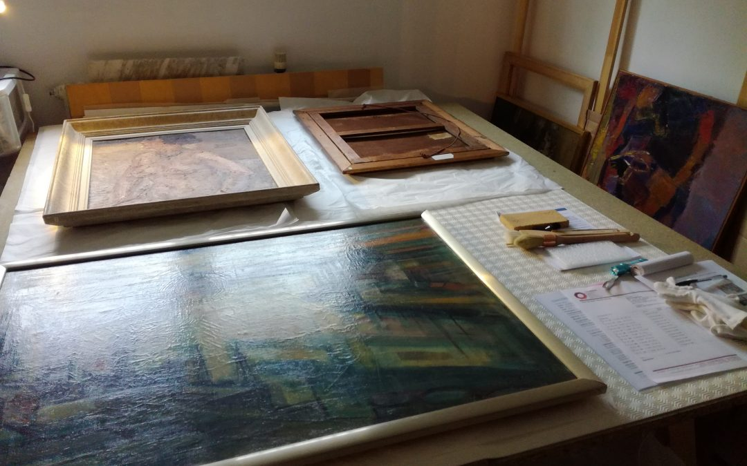 Conservation et restauration d'une collection municipale