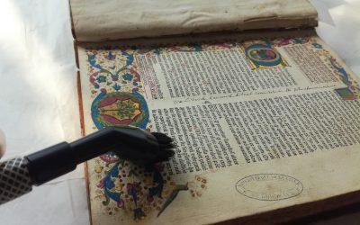 Chantier des collections du patrimoine ancien à la Bibliothèque de Mériadeck